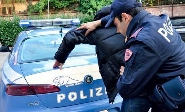 polizia arresto